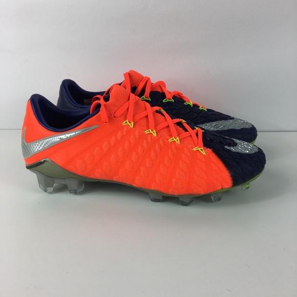 fc1d771c1f3d Nike Hypervenom III FG Flyknit ACC Soccer Cleats